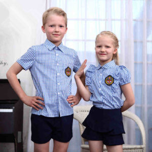 Classic England Style Primary School Uniform (SCHUM130116) pictures & photos