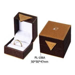 Fashion Luxury Plastic Ring Box, Jewellery Box (PL-106A)