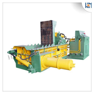 Hydraulic Scrap Metal Baler Baling Recycling Machine Y81f-125D pictures & photos