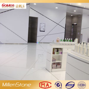White Engineering Stone for Flooring pictures & photos