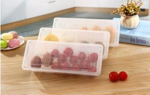 PP Fridge Bins and Freezer Organizer Refrigerator Bins Storage Containers BPA-Free Drawer Organizers pictures & photos