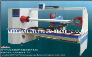Furimach Automatic Adhesive Tape Slitting Machine/PVC Electrical Tape/Film/Jumbo Roll/Paper Cutting Machine/Lathe Cutter Slicer Machinery pictures & photos