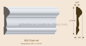 Chair Rail / MDF Wood Fiber Moulding pictures & photos