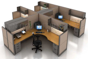 Design Layout Open Space Modern Office Workstation in Different Options (SZ-WS158) pictures & photos