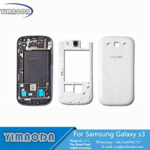 Full Housing Front Bezel, Middle Frame, Rear Battery Cover Set for Samsung Galaxy S3 I9300 I9305 9300I