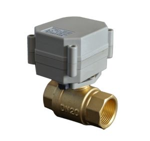 3/4′′ Electric Brass Ball Valves pictures & photos