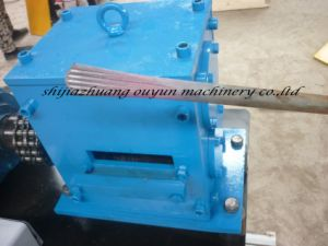 F3 Type Wrought Iron Fishtail Shaping Forming Machine for Ornamental Iron Decoration pictures & photos