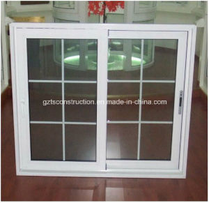 UPVC Sliding Window with Fly Screen pictures & photos