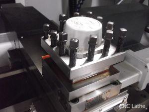 Heavy Cutting CNC Lathe Cak640 Linear Guideway CNC Lathe pictures & photos
