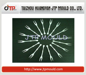 16 Cavities Small Plastic Fork Mould pictures & photos