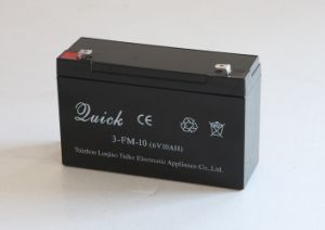 6V10 Rechargeable Lead Acid Battery pictures & photos