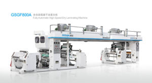 Fully Automatic High-Speed Dry Laminating Machine (GSGF 800A) pictures & photos