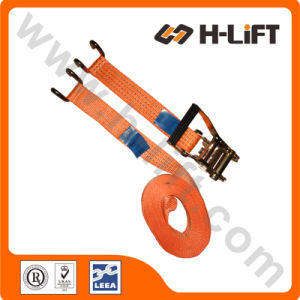 50mm/4t Cargo Strap Ratchet Tie Down with Claw Hook pictures & photos