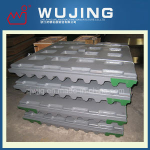 Wujing Wear Resistant Part Professional Design High Manganese Steel Cast Jaw Plate Price