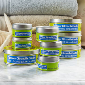 50g Outside Citronella Candle Tins pictures & photos