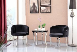 (SX-179) Round PU Leather Coffee Chair pictures & photos