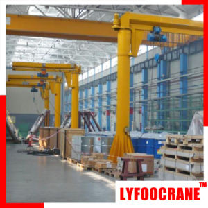Bzd Type Jib Crane with Hoists (250kg, 500kg, 1t, 2t, 3t, 5t) pictures & photos