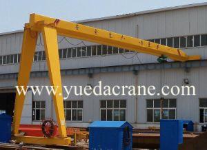 Sinble Beam Semi-Gantry Crane (BMH2ton~10ton Single Girder Gantry Crane)