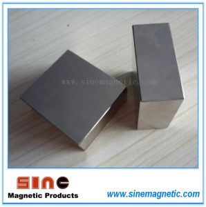 Big Block Neodymium Magnet (NdFeB Magnet) N40 / N45 / N50 pictures & photos