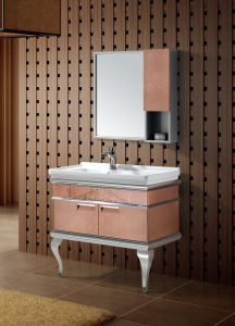 Wall-Mounted Style Bathroom Vanity (T-9479) pictures & photos