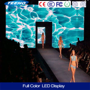 P4 Indoor RGB Color LED Display LED Board (256X128mm modules) pictures & photos