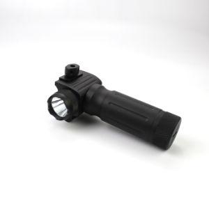 Tactical Handgrip 750 Lumens LED Flashlight with Red Laser pictures & photos