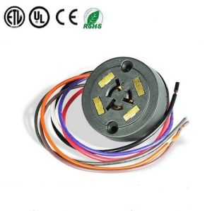 ANSI C136.41 7 POS Cable Part 2213627-4 Twist-Lock Receptacle Conncetor for Twist-Lock Photocontrol for LED Lighting pictures & photos