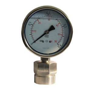 4 Inch 100mm Full Stainless Steel Diaphragm Pressure Gauge pictures & photos