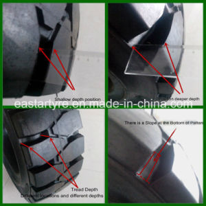Industrial Tyres, Solid Tyre, Solid Skid Steer Tire (10-16.5) pictures & photos