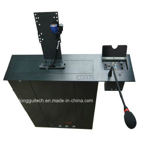 Meeting Room Equipment 19inch with Socket and Mic Lgt-1 9ms pictures & photos