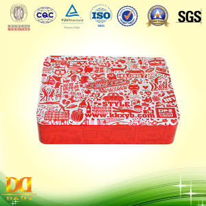 Rectangular Candy Tin Box, Candy Packing Box