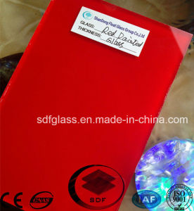 Red Painted Glass with Ce, ISO pictures & photos