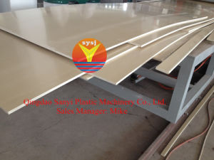 PVC Foam Board Machine/Chinaplas 2015 (Booth No. 2.2B51) /WPC Foam Board Production Line/New Construction Board pictures & photos