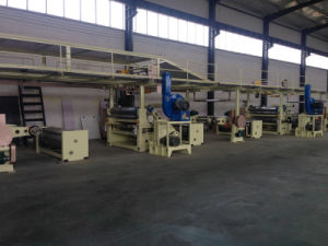 Three Layer Corrugated Cardboard Production Line pictures & photos