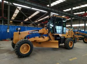 Py100 Mini Motor Grader for Sale with 100HP pictures & photos