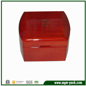 High Glossy Square Wooden Pakcking Watch Box pictures & photos