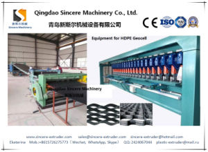 PE HDPE Geocell Extruding Plant Polyethylene Sheet Extrusion Equipment Manafacturing Machine pictures & photos