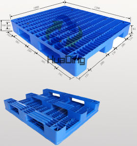 Heavy Duty Plastic Pallet in Size 1200X800 mm pictures & photos