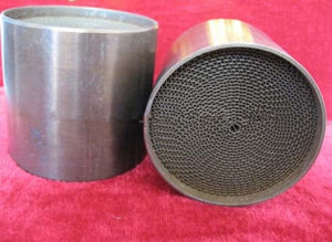 Metal Honeycomb Substrate Honeycomb Catalyst for Exhaust System pictures & photos
