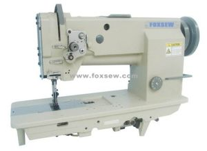 Heavy Duty Compound Feed Lockstitch Sewing Machine with Thick Thread pictures & photos