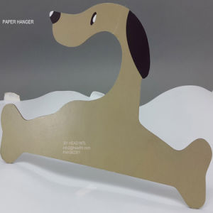 Dog Paper Printed Cardboard Clothes Hanger Big Size Hangers for Jeans pictures & photos