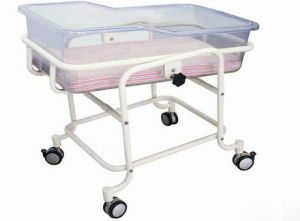 CD-04101medical Baby / Paediatric Trolley / Cot/ Crib