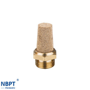 Pneumatic Fittings Muffler Brass and Plastic Plug/ Bsl02-02 pictures & photos