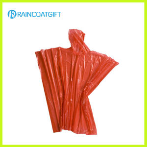 Emergency Pocket PE Disposable Rain Poncho Rpe-133 pictures & photos