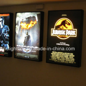 Movie Poster Frameless Tension Fabric Light Box