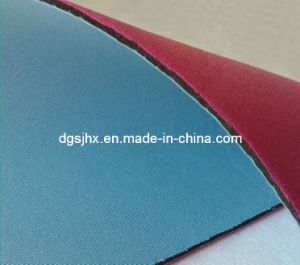 Neoprene Rubber Sheet with Lamilation Different Fabric (TN001) pictures & photos