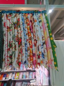100% Polyester Transfer Printed Table Cloth pictures & photos
