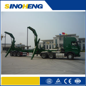 Liangshan 50t Side Loading Semitrailer for Containers pictures & photos