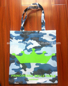 Non Woven Bag with Camouflage Silkscreen Printing pictures & photos