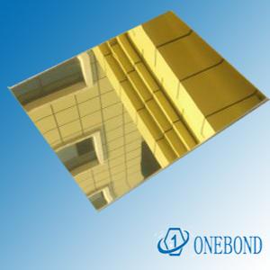 Mirror Aluminum Composite Sheet pictures & photos
